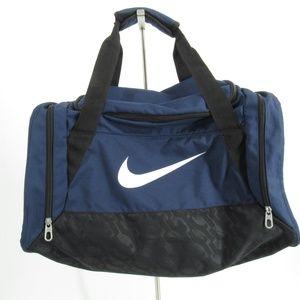 Nike Navy Blue/Black Medium Duffle Bag